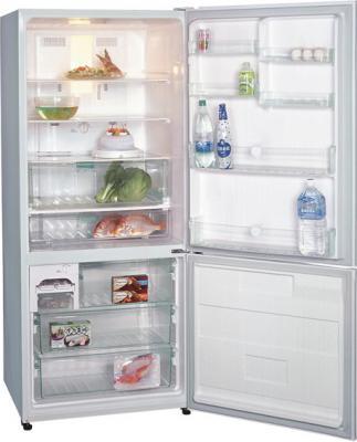 Холодильник с морозильником Panasonic NR-B651BR-C4 - общий вид