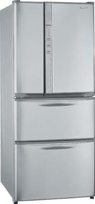 Холодильник с морозильником Panasonic NR-D511XR-S8 - общий вид