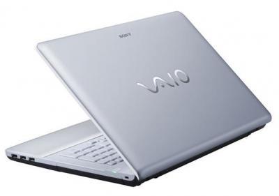 Ноутбук Sony VAIO VPCEA3M1R/WI - крышка