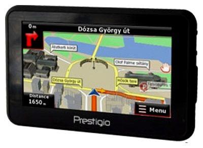 GPS навигатор Prestigio GeoVision 5120BT - общий вид