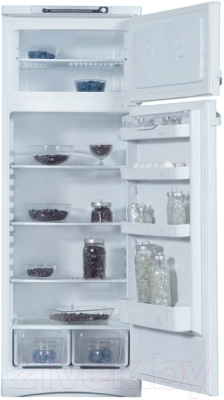 Холодильник с морозильником Indesit ST 145 - внутренний вид