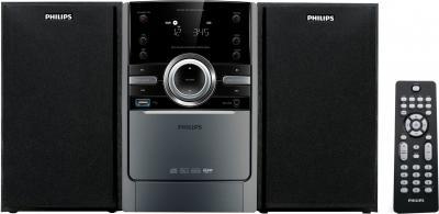 Микросистема Philips MCM166/12 - Вид спереди