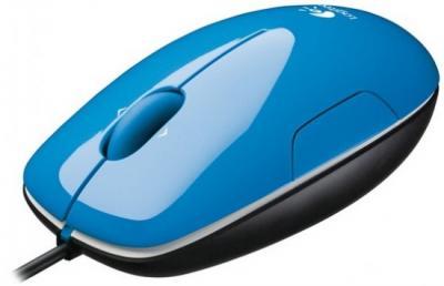 Мышь Logitech LS1 910-000864 (Blue) - общий вид