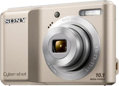 Компактный фотоаппарат Sony Cyber-shot DSC-S2000 (Silver) - общий вид