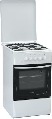 Кухонная плита Nord ПГ4 105-4А (WH) - Вид спереди