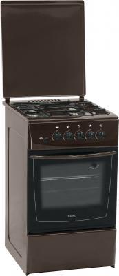 Кухонная плита Nord ПГ4 105-4А (BR) - Вид спереди