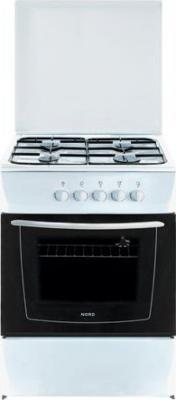 Кухонная плита Nord ПГ4-200-7А WH - общий вид