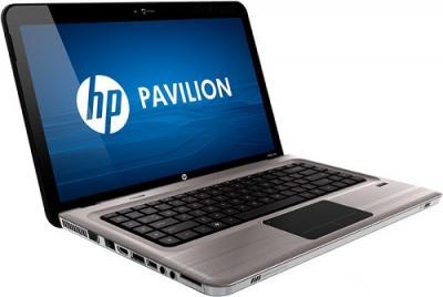 Ноутбук HP Pavilion dv6-3104er (XD546EA) - Вид сбоку