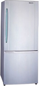 Холодильник с морозильником Panasonic NR-B651BR-S4 - общий вид