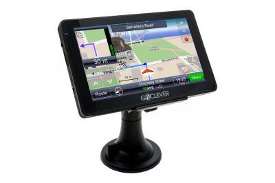 GPS навигатор GoClever 4366 FMBT - вид спереди