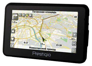 GPS навигатор Prestigio GeoVision 4120BT - общий вид