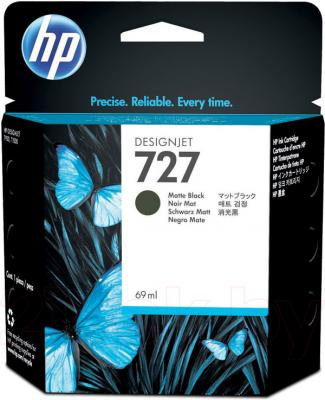 Картридж HP 727 (C1Q11A) - общий вид