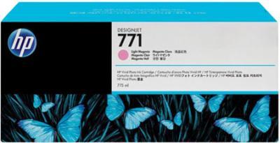 Картридж HP 771 (CE041A) - общий вид
