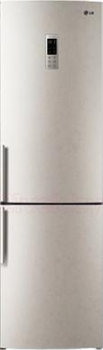 Холодильник с морозильником LG GA-B489YECZ - общий вид