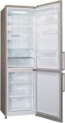Холодильник с морозильником LG GA-B489YECZ - в открытом виде