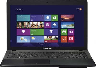 Ноутбук Asus X552EA-SX239H - фронтальный вид