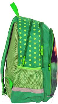 Школьный рюкзак Paso 13-081 - вид сбоку