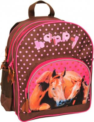 Школьный рюкзак Paso 13-157J - вид спереди