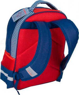 Школьный рюкзак Paso 14-1219M - вид сзади