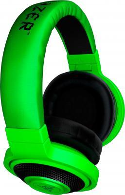 Наушники Razer Kraken (Green) - вид сбоку