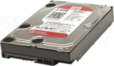 Жесткий диск Western Digital Red 2TB (WD20EFRX) - общий вид