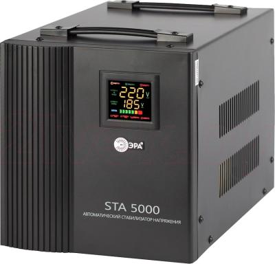 Стабилизатор напряжения ЭРА STA-5000 - общий вид