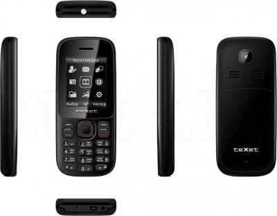 Мобильный телефон TeXet TM-D109 (черный) - полный обзор панелей