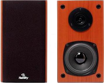 Мультимедиа акустика Hardity SP-280 (бук) - общий вид