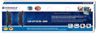 Адаптер для кронштейна Kromax Adapter-400 (темно-серый) - упаковка