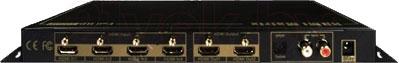 Матричный коммутатор HDMI Dr.HD MX 4*2 RK (5005003) - вид сзади