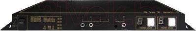 Матричный коммутатор HDMI Dr.HD MX 4*2 RK (5005003) - общий вид