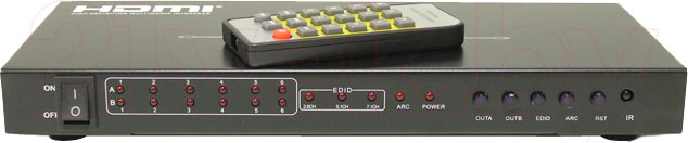 Матричный коммутатор HDMI Dr.HD