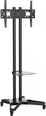 Стойка для ТВ/аппаратуры Arm Media PT-STAND-2 (Black) - общий вид