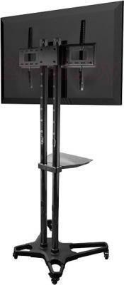 Стойка для ТВ/аппаратуры Arm Media PT-STAND-2 (Black) - вид сзади