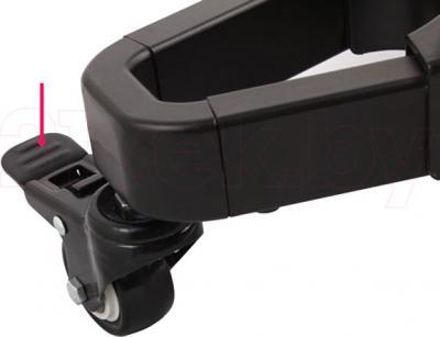 Стойка для ТВ/аппаратуры Arm Media PT-STAND-2 (Black) - колесико