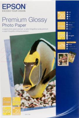 Фотобумага Epson Premium Glossy Photo Paper (C13S041706) - общий вид