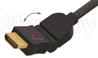 Кабель HDMI Barkan HD18P2 - изгиб кабеля