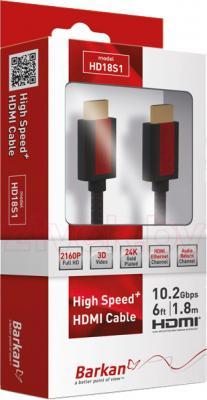 Кабель HDMI Barkan HD18S1 - общий вид