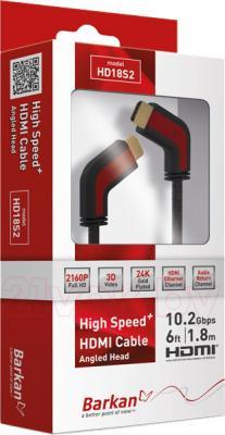 Кабель HDMI Barkan HD18S2 - общий вид
