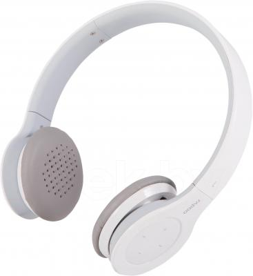 Наушники-гарнитура Rapoo H6060 (белый + термокружка) - общий вид