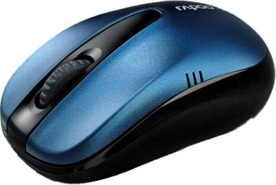Мышь Rapoo 1070p (синий) - общий вид