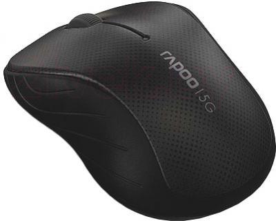 Мышь Rapoo 3000p (серый) - общий вид