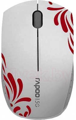 Мышь Rapoo 3300p (белый) - общий вид
