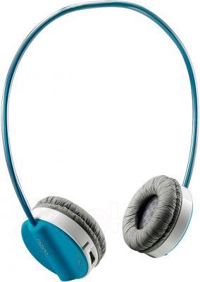 Наушники-гарнитура Rapoo H6020 (синий) - общий вид