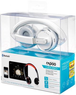 Наушники-гарнитура Rapoo H6080 (Gray) - в упаковке