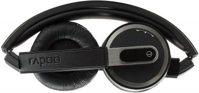 Наушники-гарнитура Rapoo H3080 (черный) - в сложенном виде