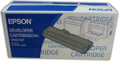 Тонер-картридж Epson C13S050167 - общий вид