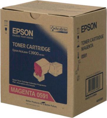 Тонер-картридж Epson C13S050591 - общий вид