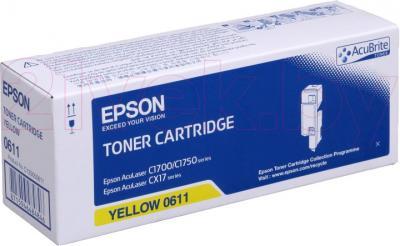 Тонер-картридж Epson C13S050611 - общий вид