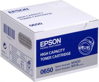Тонер-картридж Epson C13S050650 - общий вид